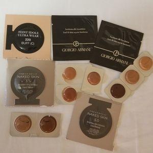 Sephora Medium to Dark Foundation Samples